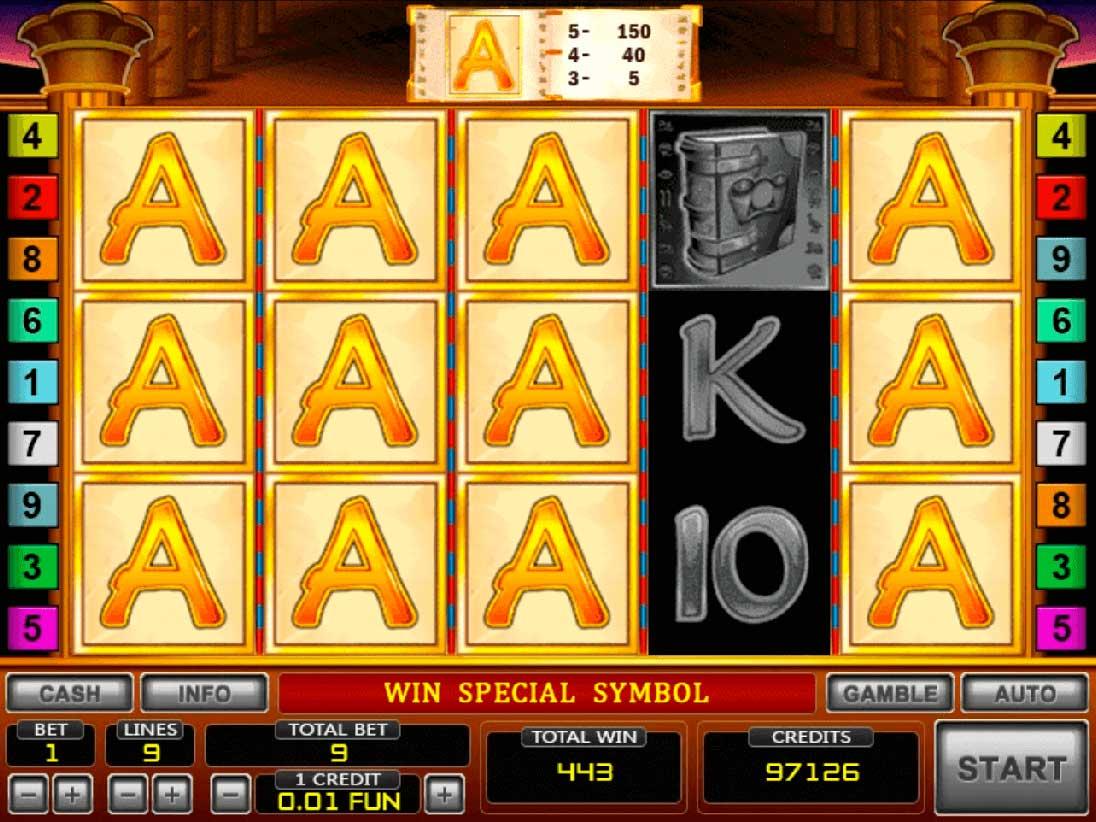 Игровой автомат Книжки - как попасть в бонусную игру